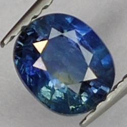 0.78ct. Oval cut sapphire