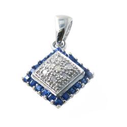 Sapphire, Diamonds and 925...