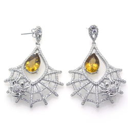 Citrine and Silver 925...