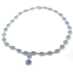 Tanzanite and Silver 925...