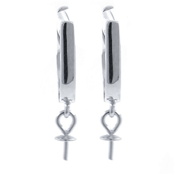925 Silver earrings fittings