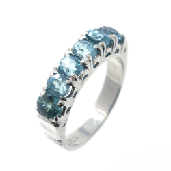 Zircon and Silver 925 Ring