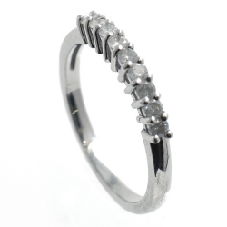 Diamonds and 925 silver ring