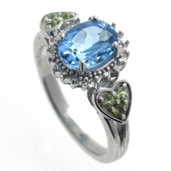 Topaz, Diamonds, Peridot...