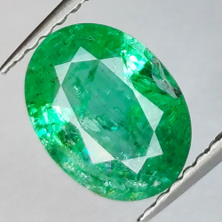 1.53ct Emerald Oval Cut