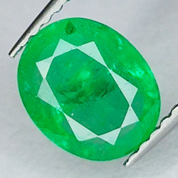 1.42ct Emerald Oval Cut