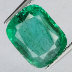 2.31ct Emerald Cushion Cut
