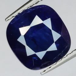 3.11ct Sapphire Cushion Cut