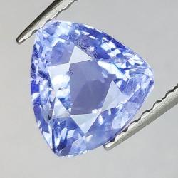 1.75ct Sapphire Trilliant Cut