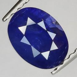 1.66ct Sapphire Oval Cut