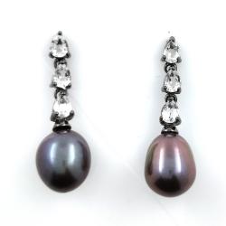 Black Pearl, White Topaz...