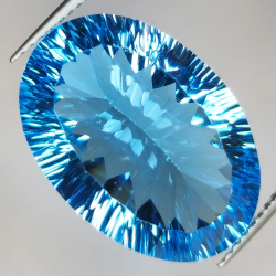 19.76 ct Blue Topaz Cut...