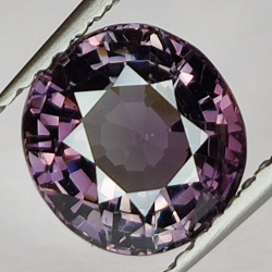 2.11ct Purple spinel oval...