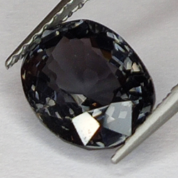 2.36ct Gray Spinel oval cut...