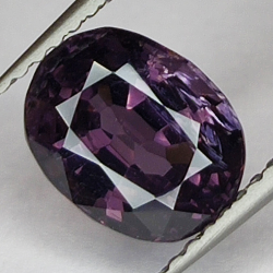 2.15ct Purple Spinel oval...