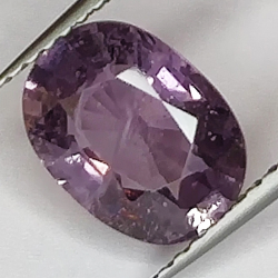 2.33ct Purple Spinel oval...