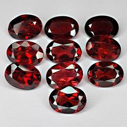 9.25ct Red Garnet oval cut...