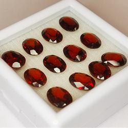 18.22ct Red Garnet oval cut...