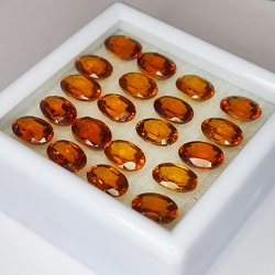 19.91ct Hessonite Garnet...
