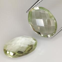 Green amethyst (prasiolite)...