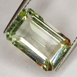 3.68ct Green Amethyst...