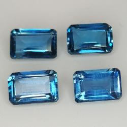Emerald cut blue London...