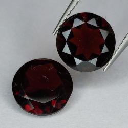 Garnet round cut 8 mm 1pz