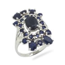 Blue Sapphire & 925...