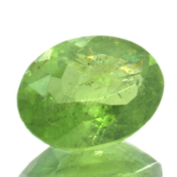 1.26ct Tsavorite Oval Cut