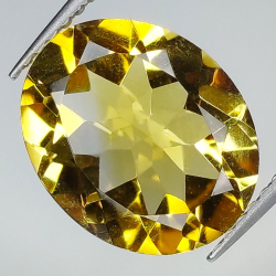 3.72ct Citrine oval cut...