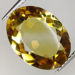 4.51ct Citrine oval cut...