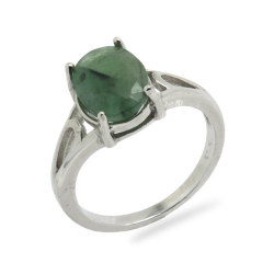 Emerald & 925 Sterling...