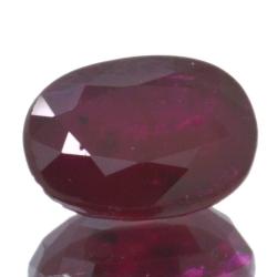 2,26ct Ruby Oval Cut