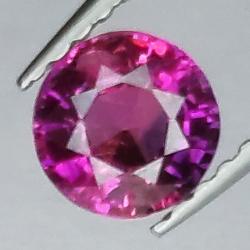 0.75ct Pink Sapphire Round...
