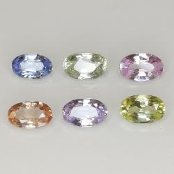 Ceylon sapphire multicolor...