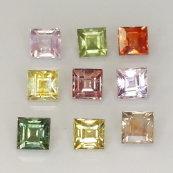 Multicolor Ceylon Sapphire...