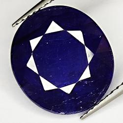 8.46ct Blue Sapphire oval...