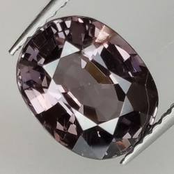 2.57ct Purple Spinel oval...