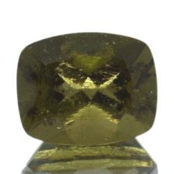 2,53ct Moldavite Cushion Cut