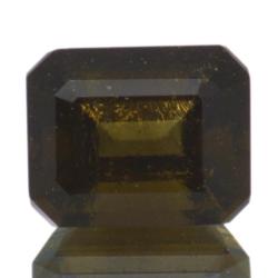 3,00ct Moldavite Emerald Cut