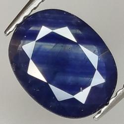 1.65ct Blue Sapphire oval...