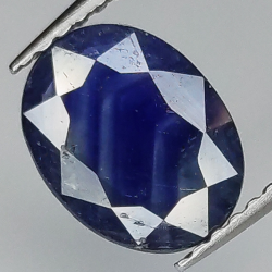 1.46ct Blue Sapphire oval...