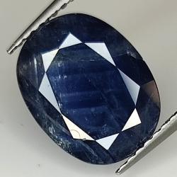 4.22ct Blue Sapphire oval...