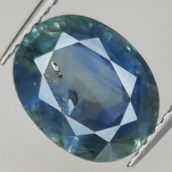 3.07ct Blue Sapphire oval...