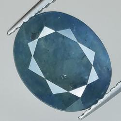 4.45ct Blue Sapphire oval...
