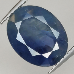 4.28ct Blue Sapphire oval...