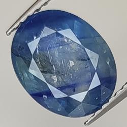 3.27ct Blue Sapphire oval...