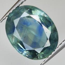 3.92ct Blue Sapphire oval...