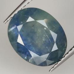 4.48ct Blue Sapphire oval...