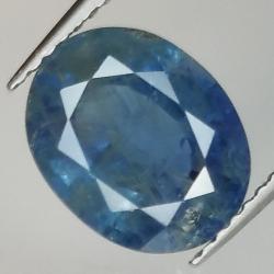 3.79ct Blue Sapphire oval...